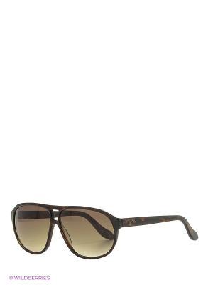 Солнцезащитные очки AN 738 02 Vivienne Westwood. Цвет: коричневый