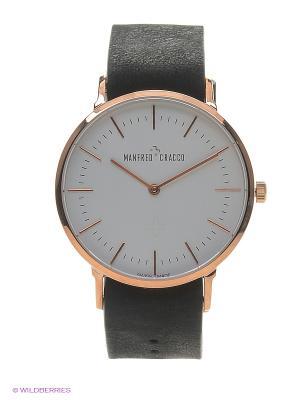 Часы MANFRED CRACCO. Цвет: черный