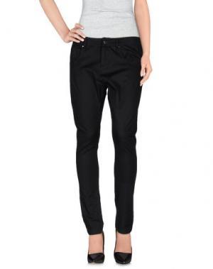 Повседневные брюки PF PAOLA FRANI. Цвет: черный