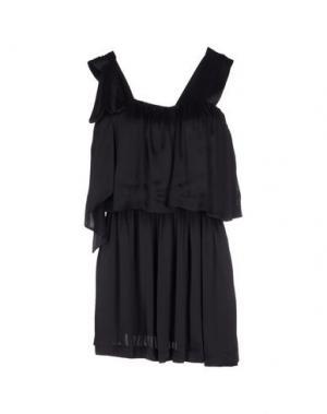 Короткое платье TWENTY8TWELVE. Цвет: черный