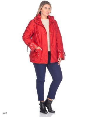 Куртка Тина VIKO. Цвет: красный