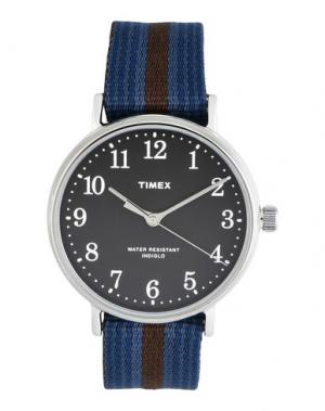 Наручные часы TIMEX. Цвет: темно-коричневый