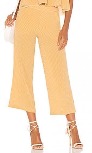 Укороченные брюки carom Jens Pirate Booty Jen's. Цвет: желтый