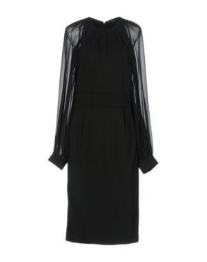 Легкое пальто ANGEL EYE. Цвет: черный