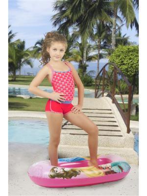 Детский купальник Dea Fiori. Цвет: коралловый