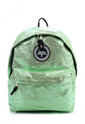 Рюкзак Hype. Цвет: зеленый