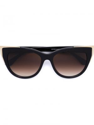 Солнцезащитные очки Epiphany Thierry Lasry. Цвет: чёрный