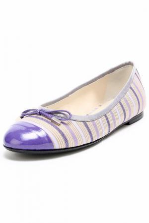 Балетки Mary Claud. Цвет: фиолетовый