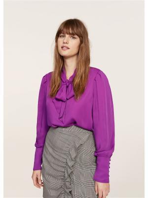 Блузка - BALEN Violeta by Mango. Цвет: фиолетовый