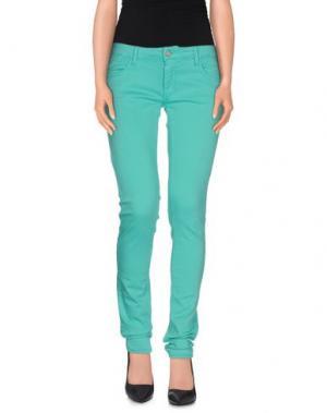 Повседневные брюки LE TEMPS DES CERISES. Цвет: зеленый