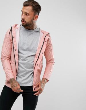 Another Influence Непромокаемая куртка. Цвет: розовый