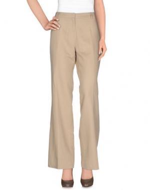 Повседневные брюки MER DU NORD. Цвет: бежевый