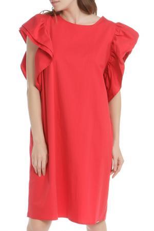 Платье HANNY DEEP. Цвет: красный