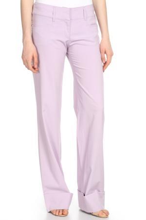 Брюки Versace Jeans Couture. Цвет: сиреневый