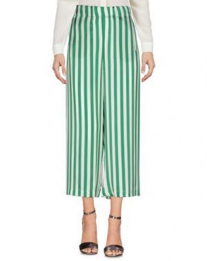 Повседневные брюки SHIRTAPORTER. Цвет: зеленый