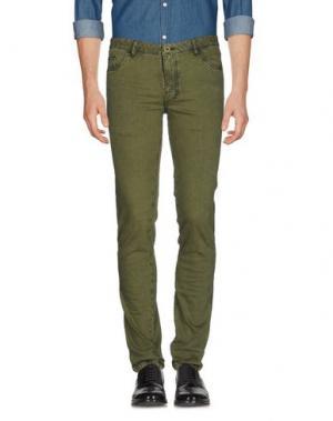Повседневные брюки HARRY & SONS. Цвет: зеленый