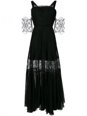 Платье Dafne Maria Lucia Hohan. Цвет: чёрный