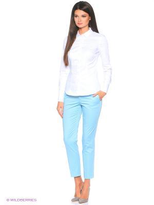 Брюки Pantaloni Torino. Цвет: голубой