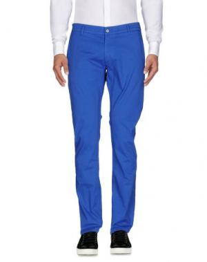 Повседневные брюки DANIELE ALESSANDRINI. Цвет: ярко-синий