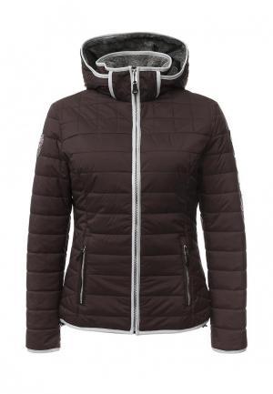 Куртка утепленная Napapijri. Цвет: коричневый