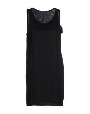 Короткое платье LUMEN ET UMBRA. Цвет: черный