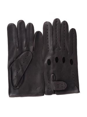 Перчатки PerstGloves. Цвет: серо-коричневый