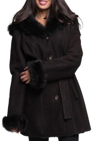 Пальто Jean Guise. Цвет: dark brown