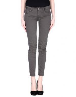 Повседневные брюки TRAMAROSSA. Цвет: свинцово-серый