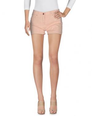 Джинсовые шорты VDP CLUB. Цвет: розовый