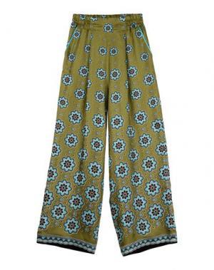 Повседневные брюки F.R.S. FOR RESTLESS SLEEPERS. Цвет: зеленый-милитари