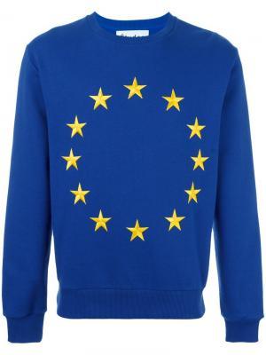 Толстовка Etoile Europa Union Études. Цвет: синий
