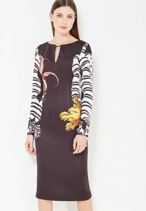 Платье Cavalli Class. Цвет: черный