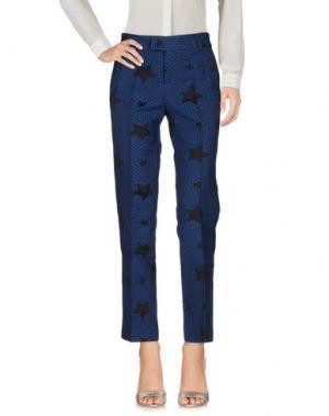 Повседневные брюки GIULIETTE BROWN. Цвет: синий
