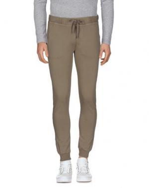 Повседневные брюки ALPHA STUDIO. Цвет: голубиный серый