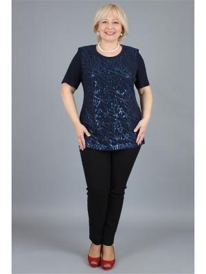 Блузка NadiN. Цвет: синий