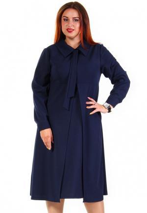 Платье Luxury Plus. Цвет: синий