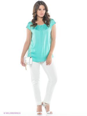 Блузка AVELON. Цвет: светло-зеленый
