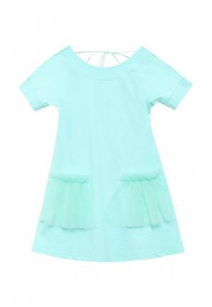 Платье Irmi. Цвет: мятный