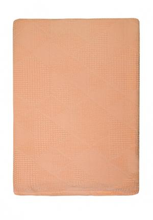 Простыня Arloni. Цвет: оранжевый