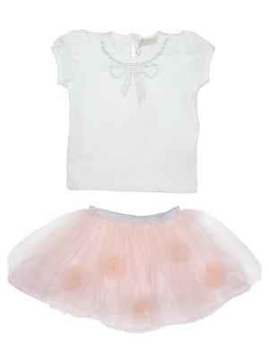 Костюм Baby Rose. Цвет: персиковый