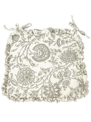 Набор из 2-х сидушек-трапеций Лоскутклаб. Цвет: белый, серый