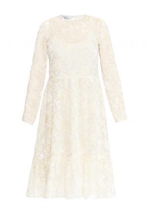 Платье из шелка с сорочкой 159381 Y.amelina