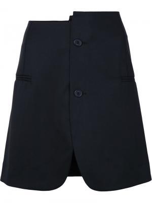 Юбка La jupe vest Jacquemus. Цвет: чёрный