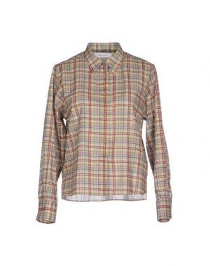 Pубашка MAURO GRIFONI. Цвет: светло-зеленый