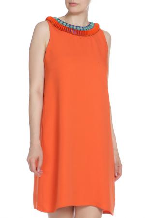 Платье коктейльное Issa London. Цвет: оранжевый