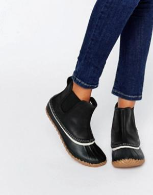 Sorel Ботинки челси Out N About. Цвет: черный