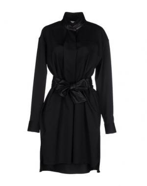 Короткое платье NEW ENGLAND. Цвет: черный