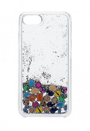 Чехол для iPhone 7 Rebecca Minkoff. Цвет: прозрачный