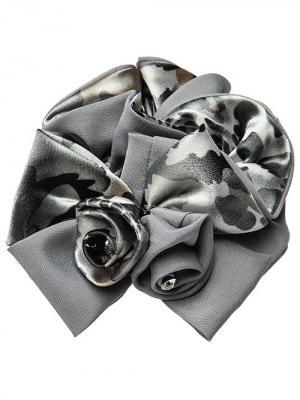 Резинка для волос City Flash. Цвет: серый, черный