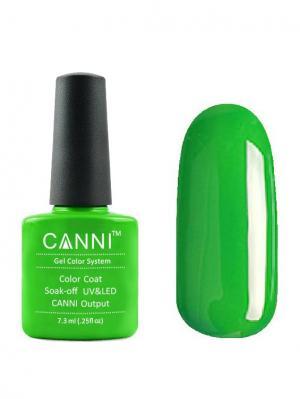 Гель лак №160 CANNI. Цвет: зеленый